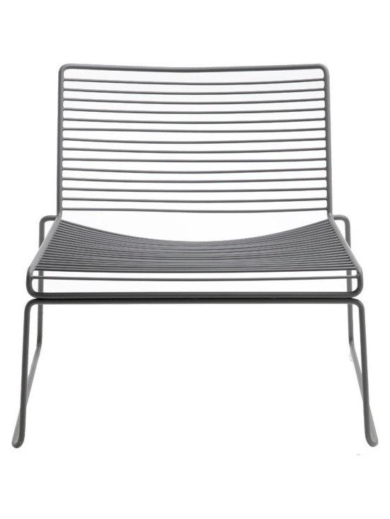 Hee Lounge Chair, Gray -