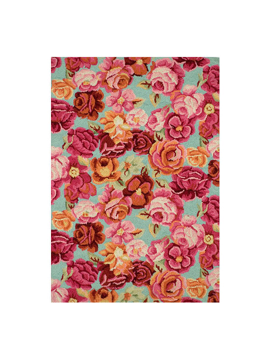 Bed of Roses Rug -