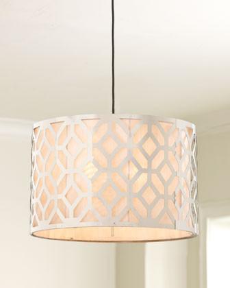 Large Geometric Pendant traditional-pendant-lighting