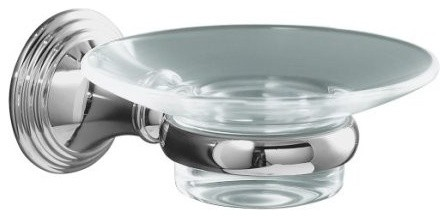 KOHLER K-10560-CP Devonshire Soap Dish in Chrome traditional-bath-and-spa-accessories