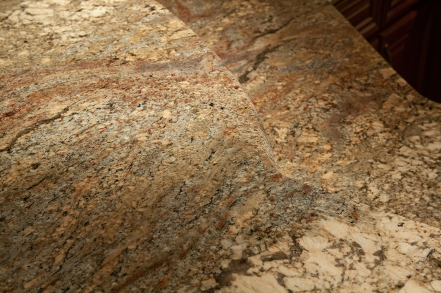 Fire Bordeaux Granite (aka Crema Bordeaux Granite - modern