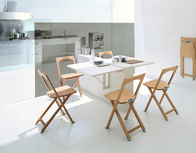 Calligaris Quadro Wall-mounted Drop-leaf Table
