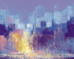 Manhattan II Print by Claudio Lami contemporary artwork