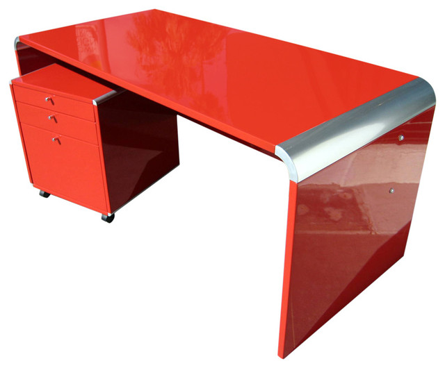 Red Office Desk Home Furniture Design Kitchenagenda Com