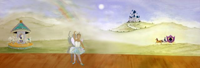 Ballet Mural at Bellini's in Manhasset NY