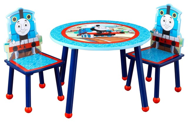 thomas friends table chair set by kidkraft. Black Bedroom Furniture Sets. Home Design Ideas