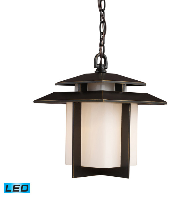 ELK Lighting Kanso 1 Light LED Outdoor Pendant