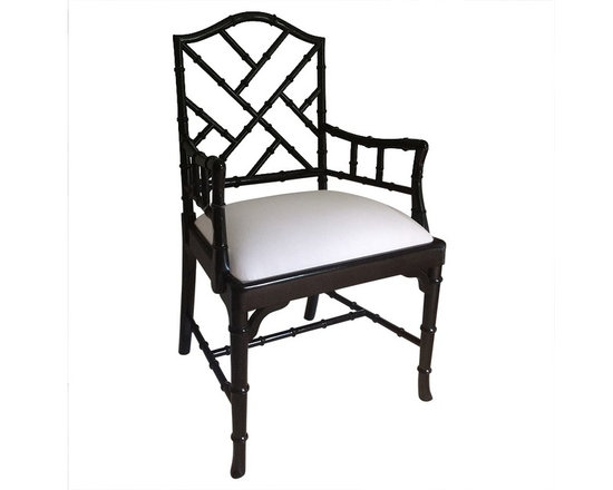 CHARLOTTE CHINESE CHIPPENDALE DINING CHAIRS -
