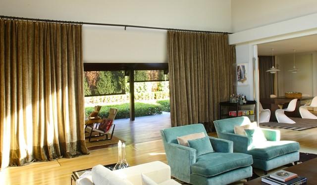 Draperies midcentury-curtains