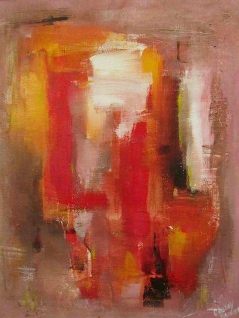 """Tequila Sunrise"" Artwork contemporary-paintings"