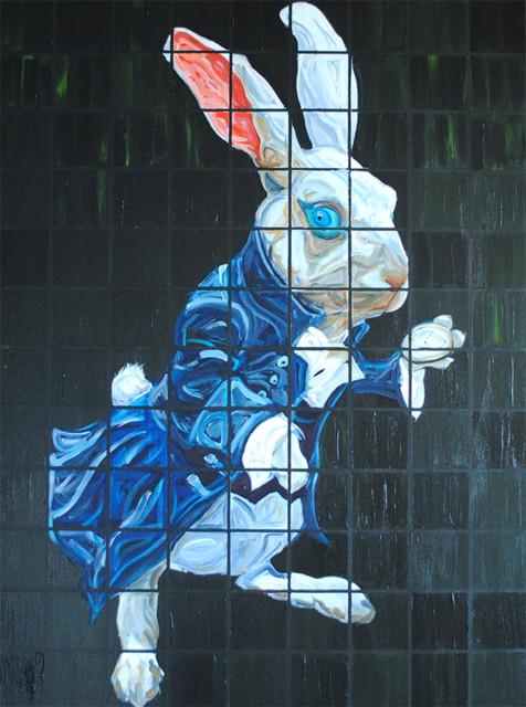 WHITE RABBIT, 2013 contemporary-artwork