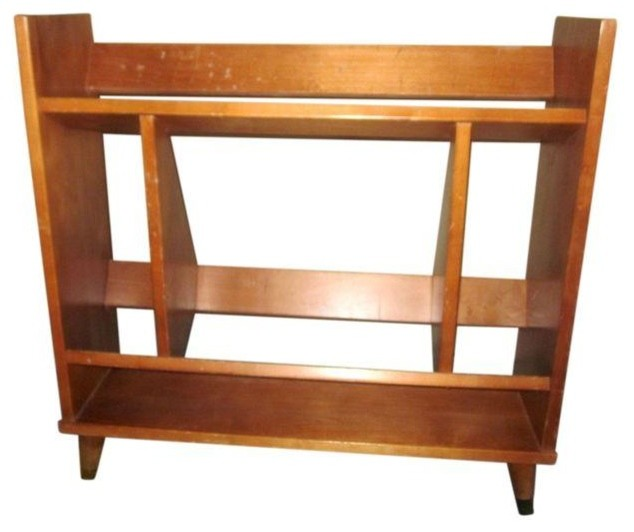 Pre-owned Mid-Century Danish Modern Bookcase - Modern - Bookcases