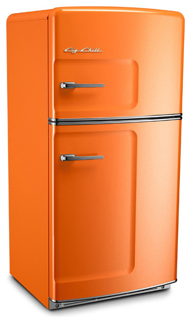 Bill Chill Retro Refrigerator eclectic-refrigerators-and-freezers