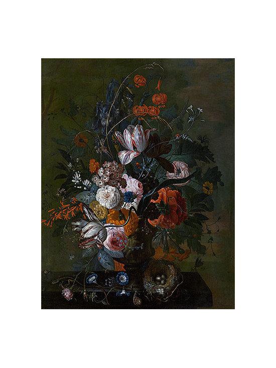 Bouquet of Flowers, b.1716 | Huysum | Canvas Print - Condition: Canvas Print - Unframed