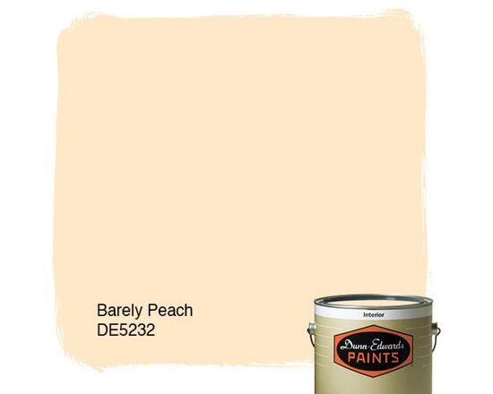 Dunn-Edwards Paints Barley Peach DE5232 -
