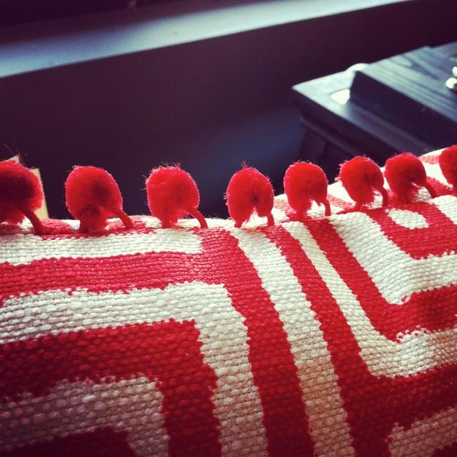 Pom Pom Pillow contemporary-decorative-pillows