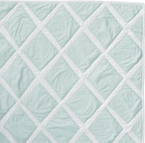 Aqua Diamond Quilt traditional quilts