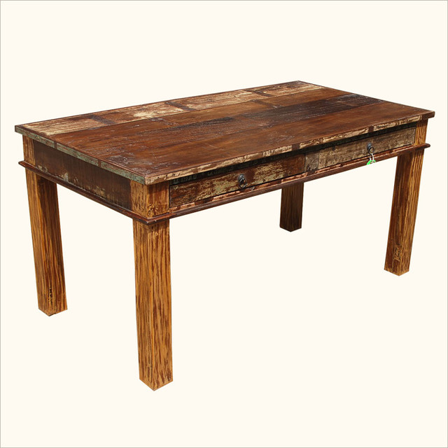 Random Photo Gallery Of Reclaimed Wood Dining Room Table Reclaimed ...
