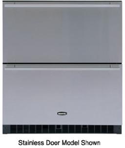 "30"" Refrigerator Drawers, White modern-refrigerators-and-freezers"