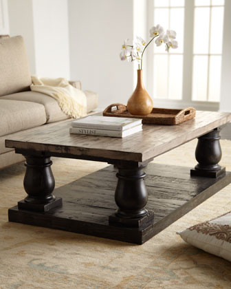 Haute House Stratford Coffee Table traditional coffee tables