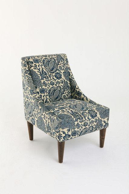 Slope Chair - Batik Ink eclectic chairs