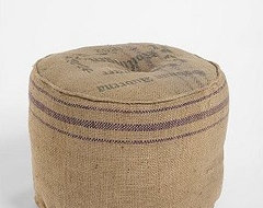 Free Trade Pouf eclectic ottomans and cubes