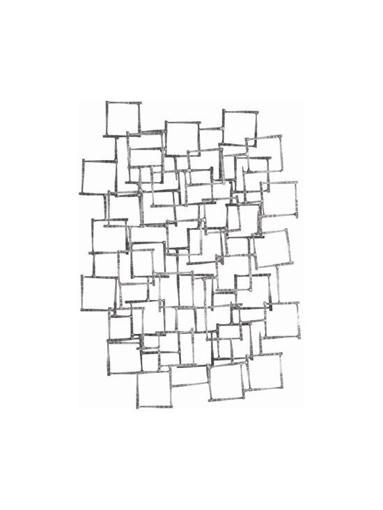 Arteriors Ecko Natural Iron Wall Sculpture - Ecko Natural Iron Wall Sculpture