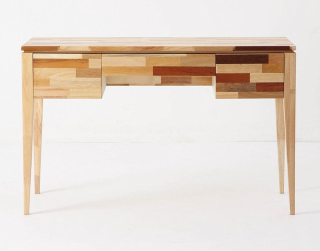 eclectic desks by Anthropologie