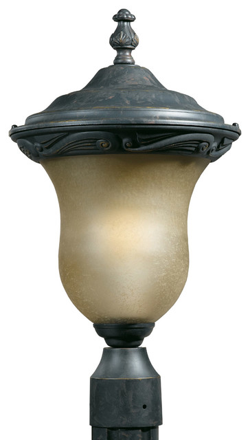 Triarch 78225 12 English Bronze Outdoor Post Light Contemporary Post Lights