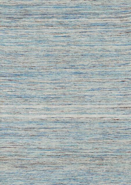 """Oliver OV-01 9'3"""" x 13' Aqua Rug contemporary-rugs"""