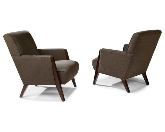 Thayer Coggin - Larsen Lounge Chairs from Thayer Coggin - Thayer Coggin Inc.