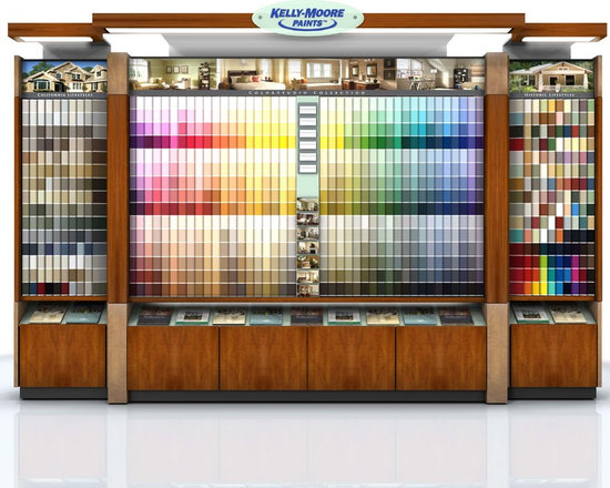 Do You Have Our New Colors? - All of my Kelly-Moore Stores in Austin have received their new color centers where clients can explore new colors and lay out materials to coordinate with.  Our Color Studio Collection has about 1,800 new colors and you can get a new Designer Box upon request.