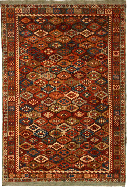 Kurd, 4-3 x 6 mediterranean rugs