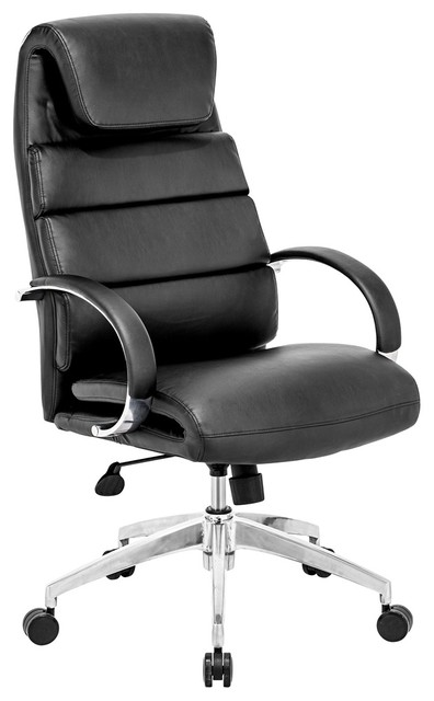 Zuo Lider Comfort Black Office Chair contemporary-office-chairs