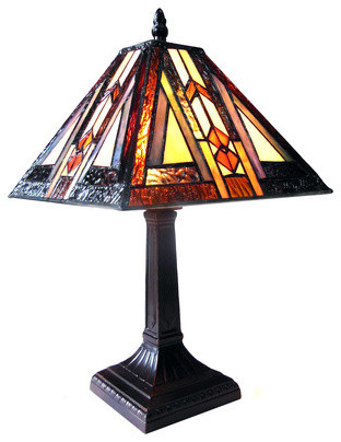 mission style south western table lamp craftsman table lamps by. Black Bedroom Furniture Sets. Home Design Ideas