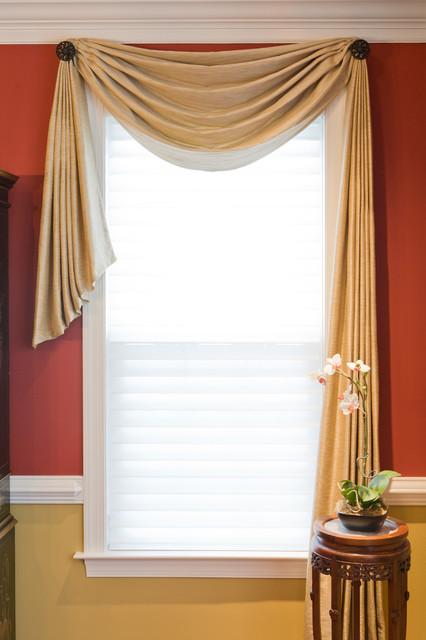 Custom Window Treatments by Heather Rabold at Sh window-treatments