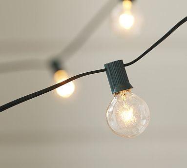 string of light bulbs large globe string light. Black Bedroom Furniture Sets. Home Design Ideas