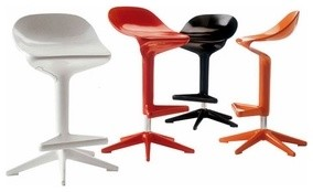 Spoon Stool | Kartell modern-bar-stools-and-counter-stools