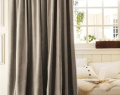 Velvet Drape traditional curtains