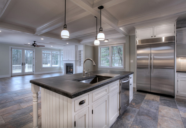 LEED SPEC HOME traditional-kitchen-islands-and-kitchen-carts