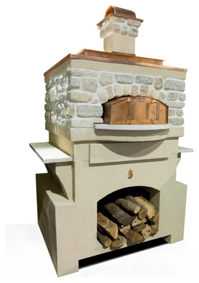 Fire Pie Colonial Pizza Oven Package rustic-outdoor-pizza-ovens