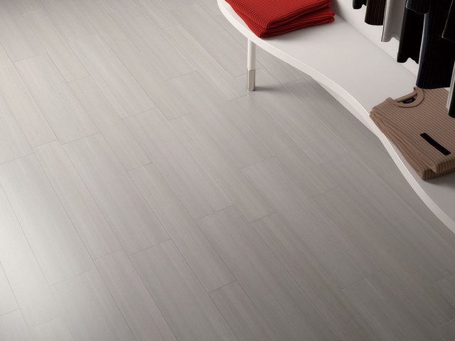 Linear design porcelain tile streaming modern wall for Modern ceramic tile