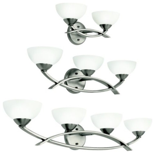 Bellamy Bath Bar contemporary bathroom lighting and vanity lighting