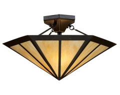 Oak Park Semi-Flushmount modern ceiling lighting