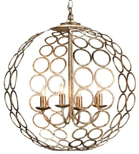 Tartufo Chandelier by Currey & Company modern-ceiling-lighting