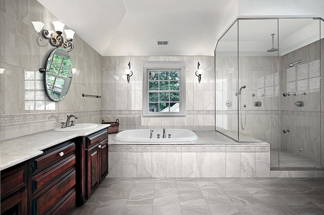Augusta Gray Traditional Wall And Floor Tile Other