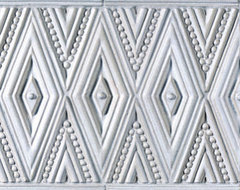 Ceramic Art Tile - Veranda - Ann Sacks Tile & Stone traditional kitchen tile