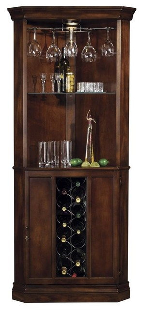 Corner Bar - Piedmont Wine & Spirits Cabinet - Contemporary - Wine And Bar Cabinets - by ShopLadder