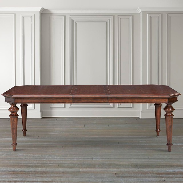 Highlands Rectangular Dining Table by Bassett Furniture  : traditional dining tables from houzz.com size 640 x 640 jpeg 75kB