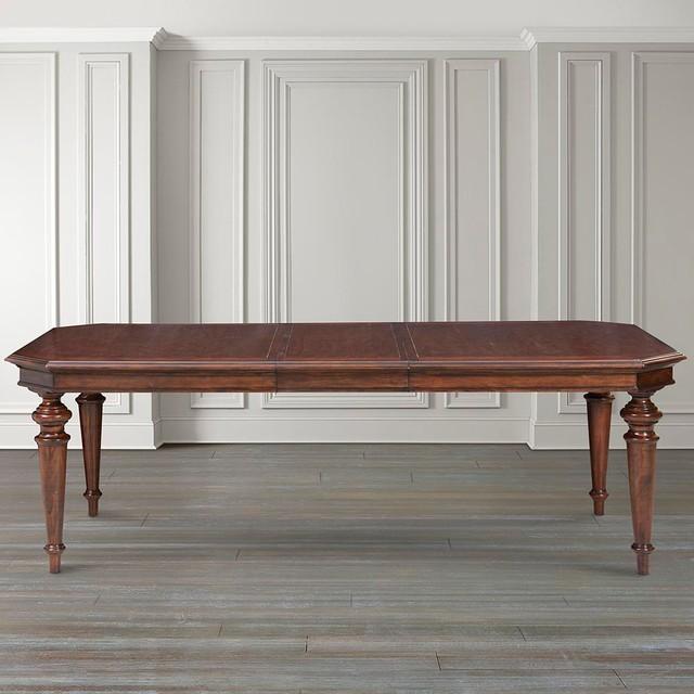 Bassett Tables: Highlands Rectangular Dining Table By Bassett Furniture